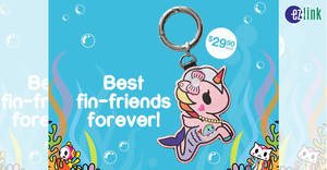 EZ-Link releases new tokidoki Perlina Mermicorno EZ-Charm from 14 Nov 2019