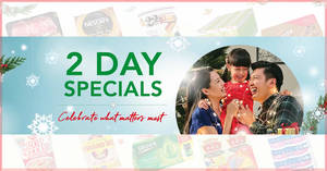 Fairprice 2-Day Specials: Van Houten Gift Tin Chocolates, Pokka, Nescafe & More! Ends Sunday, 17 November 2019
