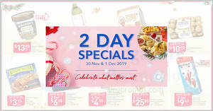 Featured image for Fairprice 2-Day Specials: Ferrero Rocher, Buy-2-Get-1-Free Ben & Jerry's, Thirsty Hippo & More! From 30 Nov – 1 Dec 2019