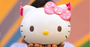 Grab the Hello Kitty collectible bucket at $9.90 (U.P. $19.90) at GV cinemas with purchase of combo of the week from 17 November 2019