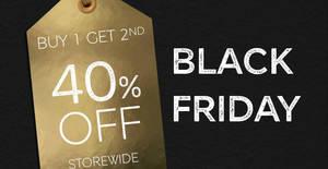 Featured image for Marks and Spencer: Buy 1 Get 2nd @ 40% Off Storewide Black Friday Sale till 2 December 2019