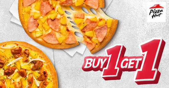 Featured image for Pizza Hut: Buy-1-Get-1-Free pizzas when you order online till 22 January 2020