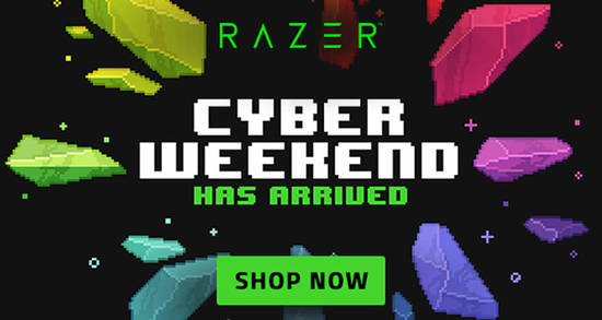 Featured image for Razer: Score up to 50% OFF Cyber Weekend till December 2, 2019
