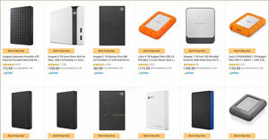 Featured image for Up to 35% off Seagate and LaCie External Storage Drives Black Friday Deal from 25 November 2019
