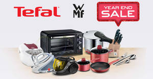 Tefal, WMF, Krups & Rowenta up to 80% off year end sale from 23 – 24 Nov 2019