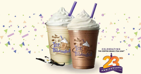 Featured image for The Coffee Bean & Tea Leaf is offering two beverages at just $11 till 28 November 2019
