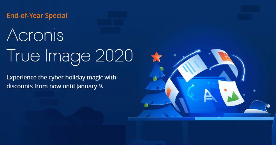 Acronis True Image 2020 Coupon