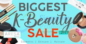 Aresa K Beauty Clearance Sale from 14th – 22nd December 2019