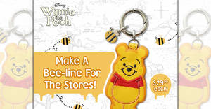 EZ-Link releases new Disney Winnie the Pooh EZ-Charm from 11 Dec 2019