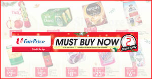 Fairprice 2-Day Specials: 1-for-1 New Zealand Rockit Apples & more deals for 2-days only from 7 – 8 Dec 2019