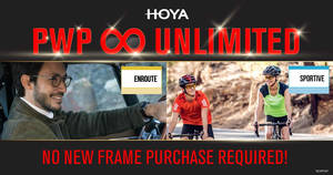 HOYA LENS Purchase with Purchase (PWP) Unlimited promotion till 3 Feb 2020
