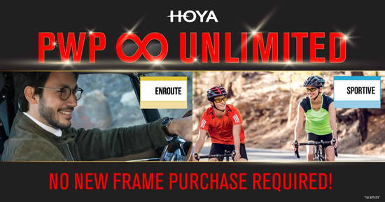 Featured image for HOYA LENS Purchase with Purchase (PWP) Unlimited promotion till 3 Feb 2020