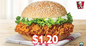 KFC Delivery: 12.12 Deals – $1.20 Zinger, 12pcs for $12 and 12¢ Whipped Potato till 12 December 2019