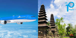 KLM celebrates 10 years flying to Bali with amazing fares fr S$198! Book by 10 December 2019