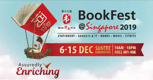POPULAR BookFest@Singapore 2019 from 6 – 15 December 2019