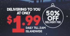Pizza Hut Delivery slashes delivery fee by 50% to $1.99 from 16 December 219