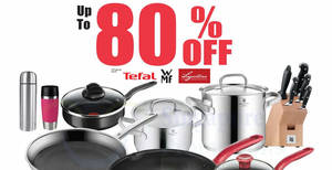 WMF & Tefal Cookware Up To 80% Off Warehouse Sale from 7 – 15 Dec 2019
