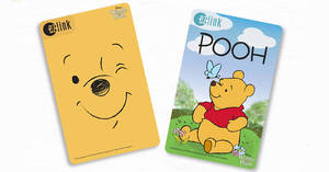 EZ-Link releases new Winnie the Pooh cards from 14 January 2020