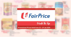 Fairprice: New Moon / Skylight / Golden Chef Abalone & other CNY offers valid till 29 Jan '20