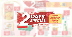 Fairprice 2-day deals on 23 – 24 Jan: Skylight New Zealand Superior Abalone, Frozen Japanese Scallop, Ferrero Rocher & More