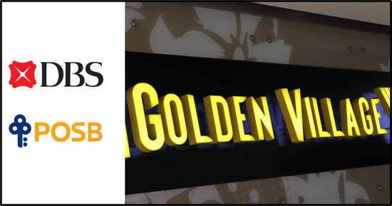 Featured image for Golden Village: DBS/POSB cardholders enjoy $1 to $3 off movie tickets and Special Discount for DBS single and double combo