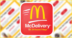 Here are McDelivery's latest Jan/Feb 2020 coupon codes valid till 19 February 2020