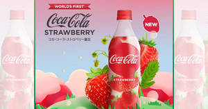 NEW: Limited Edition Coca-Cola Strawberry Now Available at 7-Eleven S'pore (From 23 Jan)