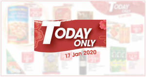 NTUC Fairprice 1-day deals valid on 17 January 2020 (Magnum Ice Cream, Golden Chef South Korean Baby Abalone & More)