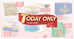 NTUC Fairprice 1-day deals on Sat, 18 January 2020 – $28.80 New Moon NZ Abalone, Ferrero Rocher T24 @ $7.45 (U.P $16.45) & More