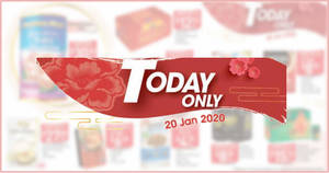 NTUC Fairprice 1-day deals on Monday, 20 Jan – Golden Chef South African Baby Abalone, Kinder Bueno, Frozen Cod Steak & More