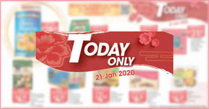 NTUC Fairprice 1-day deals on Tuesday, 21 Jan – Golden Chef Australian Baby Abalone, Van Houten, Yeo's & More