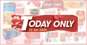 Fairprice 1-day deals on Wed, 22 Jan: 1-for-1 Tobikoya Frozen Hokkaido Scallops, Coca-Cola 12's @ $4.25 (U.P. $9.30) & More