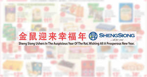 Sheng Siong ONE-day deals on 19 Jan: Happy Family Korea Baby Abalone, Van Houten Chocolate, Coca-Cola, 100PLUS & More