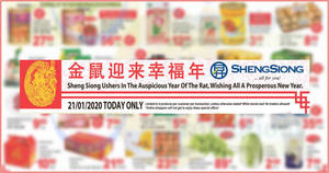 Sheng Siong ONE-day deals on 21 Jan: Ferrero Rocher, Happy Family Abalone, Songhe Thai Fragrant Rice & More