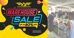Sonicgear, Alcatroz, Armaggeddon and more up to 90% off warehouse sale from 16 – 18 January 2020