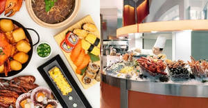 The Line at Shangri-La Hotel: 50% off 2nd diner for weekday lunch buffet & Sun-Wed dinner buffet (Singtel Exclusive) (16 Jan to 11 Feb)