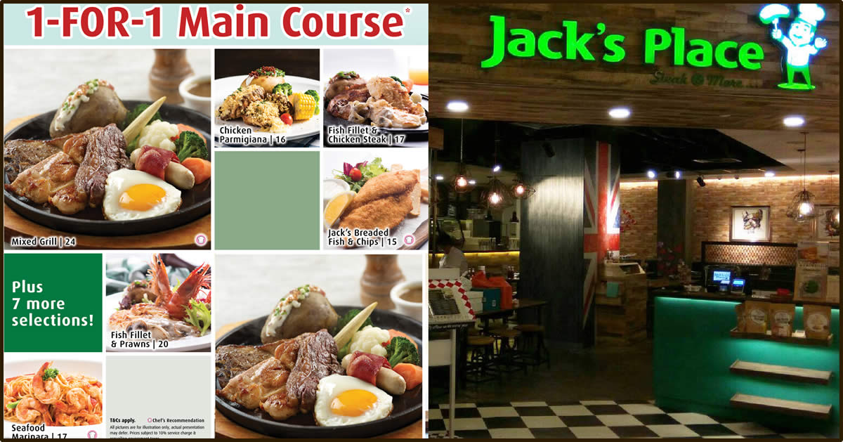 Jack's Place 50% Off Sizzling Steak Deals