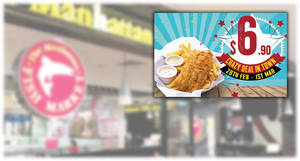 Manhattan FISH MARKET S'pore to offer $6.90 hand-battered Fish 'n Chips deal from 28 February – 1 March 2020