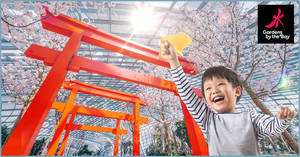 Featured image for This school holiday, kids below 12 enjoy FREE admission to Gardens by the Bay Conservatories, Floral Fantasy, and Supertree Observatory!
