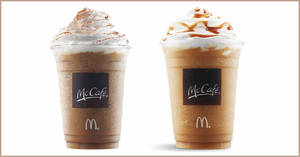 McDonald's: FREE Mocha or Caramel Frappe® with any purchase from 24 – 27 Sep 2020