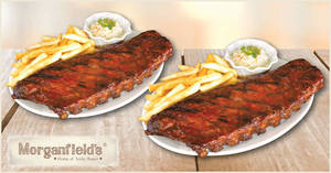 Featured image for Morganfield's: 1-for-1 Baby Back Ribs (2 – 15 March 2020, Sun – Thurs)