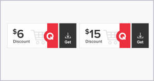 Qoo10: Grab free $6 and $15 cart coupons till 5 July 2020