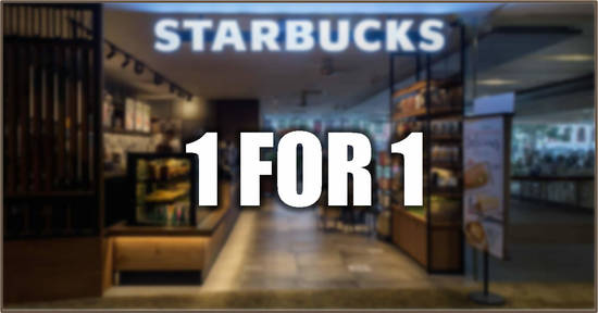 Featured image for Starbucks: Enjoy 1-for-1 on French Hazelnut Macchiato, Chocolate Chip Frappuccino® and Dark Mocha Frappuccino® (16 to 20 Mar)