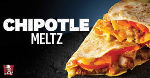 KFC is bringing back Chipotle Meltz from 8 April 2020