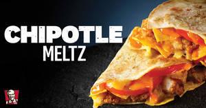 KFC is bringing back Chipotle Meltz from 8 April 2020