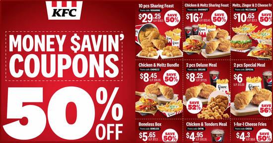 kfc coupons september 2021