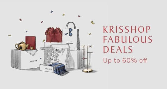 Featured image for From 9 April to 24 April, enjoy up to 60% off over 600 items with KrisShop's Fabulous Deals