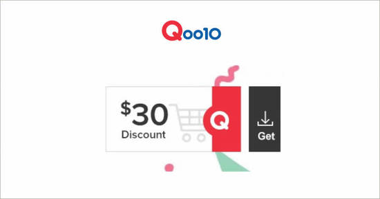 Featured image for Qoo10: Grab free $30 cart coupons (usable with a min spend of $250) till 23 July 2020
