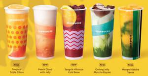 Starbucks launching new tea-licious treats from 8 April 2020