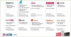 UOB Cardholders enjoy special deals at Foodpanda, Deliveroo, Qoo10, Amazon.sg & more